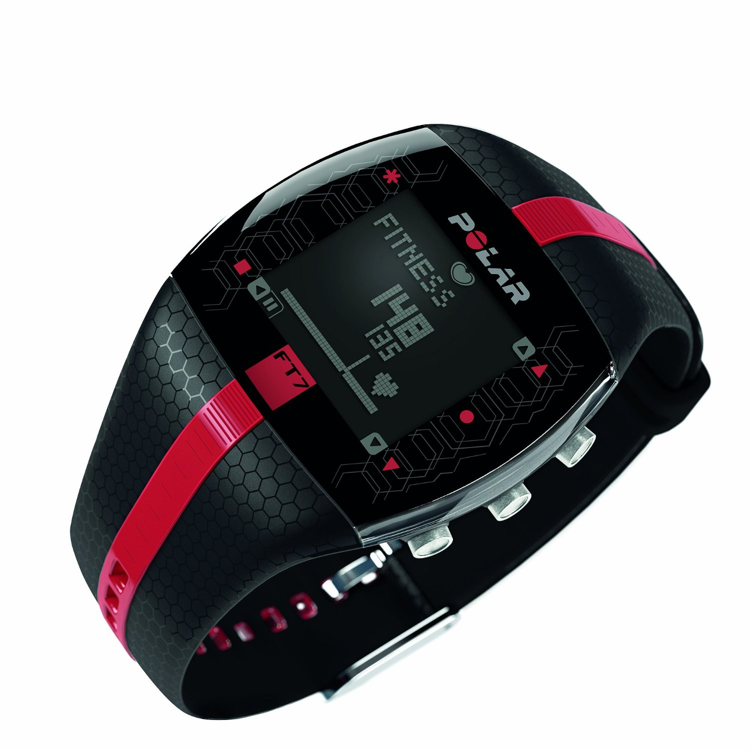 Polar FT7 Heart Rate Monitor in Black/Red Review