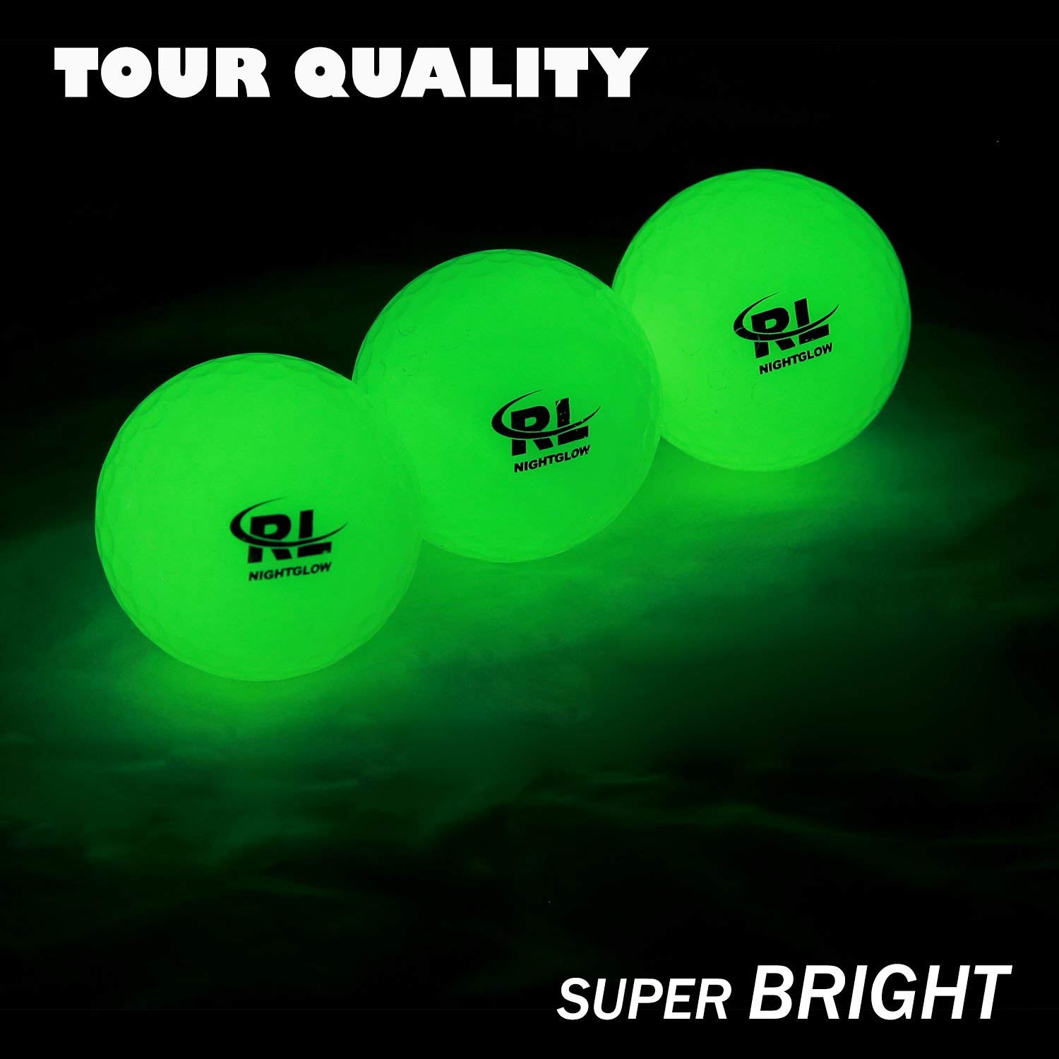 12 Pack Night Sports Golf Balls By R&L Review