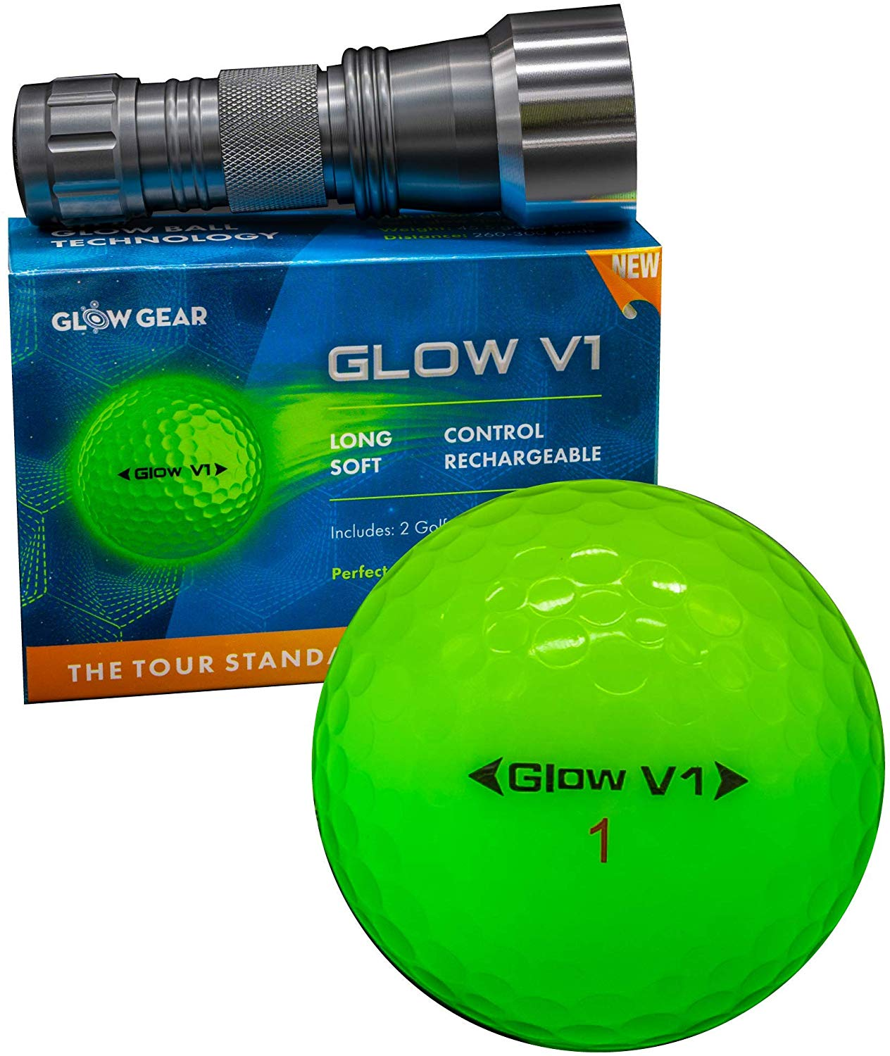 Ultra Bright Night Golf Balls by Glowgear Review