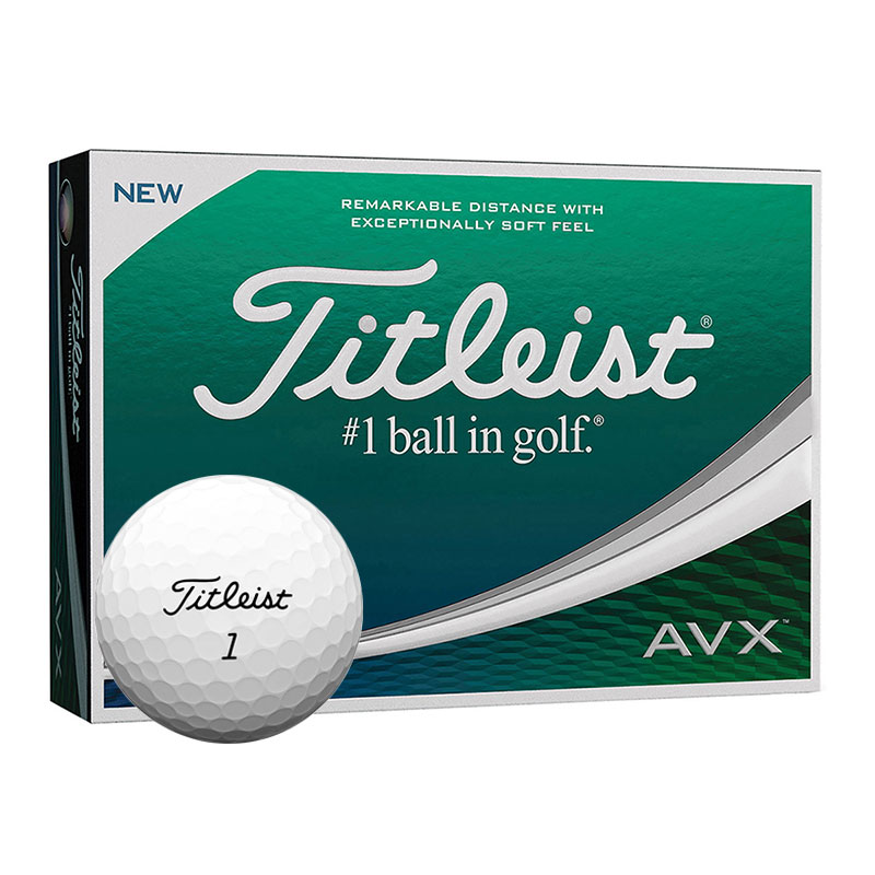 Titleist AVX Balls Golf Balls Review