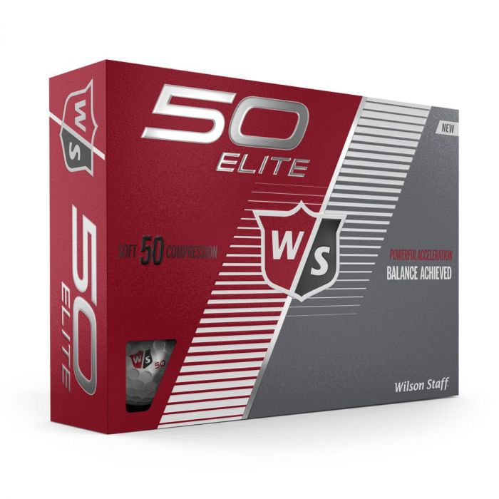 Wilson Staff Fifty Elite Golf Balls Review