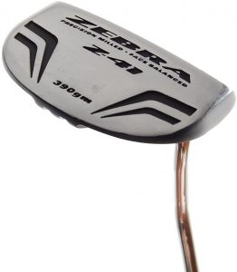 New Zebra Z-41 Black Mallet Putter by Tommy Armour Precision Milled 35 RH Review