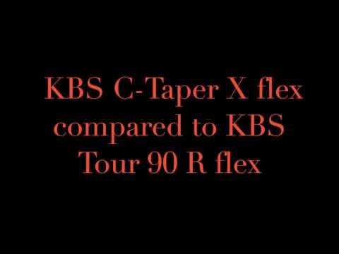 KBS Reg Flex vs KBS X Flex Shaft Comparison.