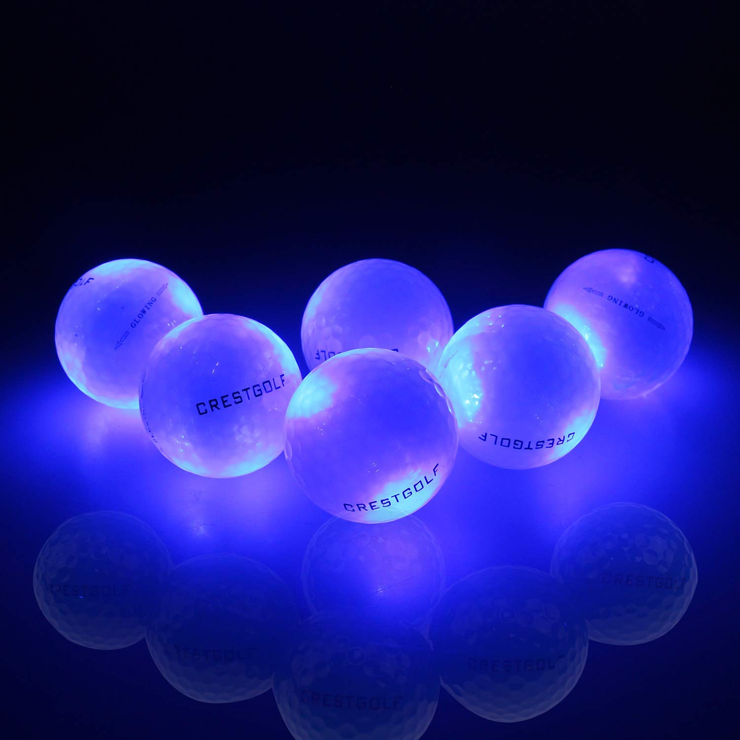 6 Pack Of Flashing Glowing Golf Balls By Crestgolf Review