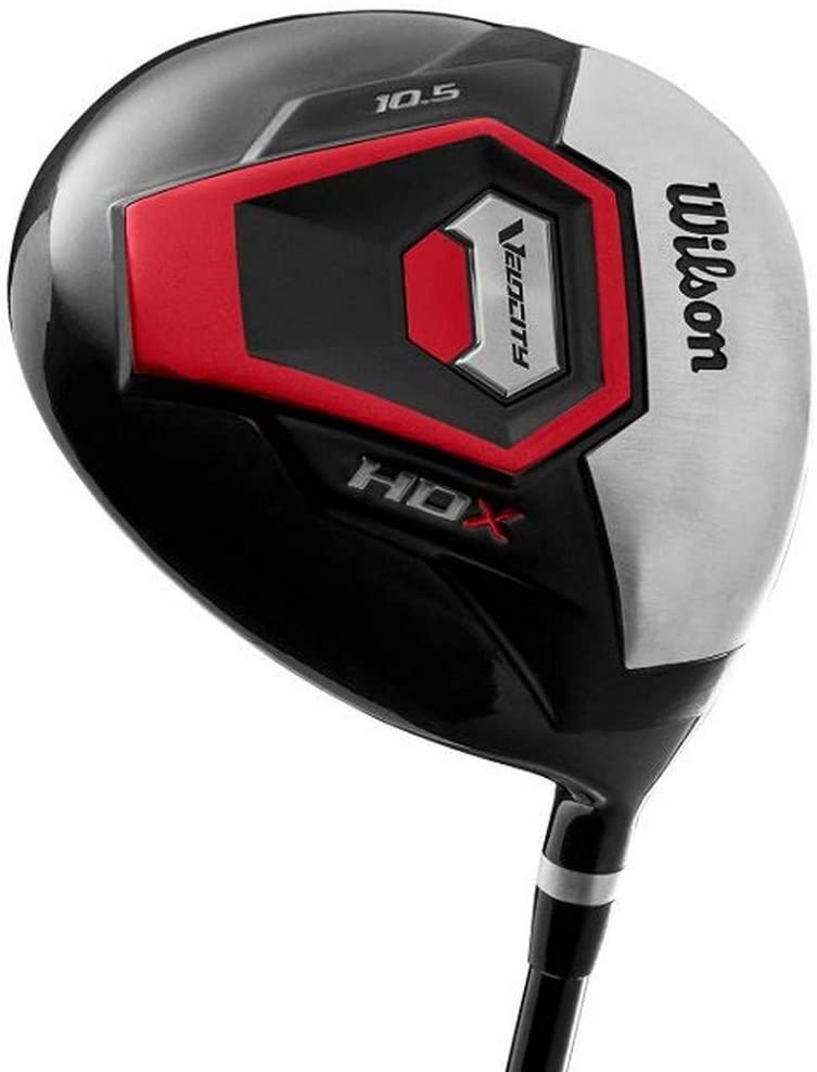 Wilson Right Handed Velocity HDX Men's Graphite Shaft Driver Golf Club Review